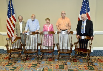Luncheon Honors Retired Faculty