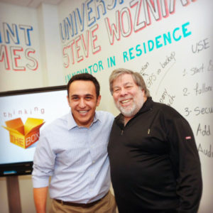 Reza Moghtaderi, Steve Wozniak