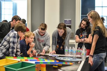 Full STEM Ahead: Robotics Competition Holds Second Challenge for Middle Schools