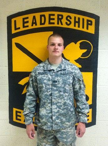 Class of 2015 Outcomes: Ryan Brothers Joins US Army Armor School