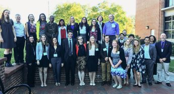 Students Share Research at Statewide Symposium