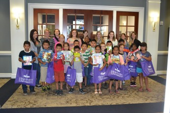 Students Wrap Up Reading Institute with Books and Skills for the Future