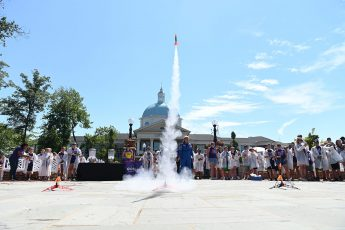 Ready for Liftoff: Kids Launch Rockets at HPU STEM Camp Finale