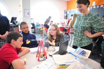 HPU Hosts Local Middle School Students for 'STEM Day'