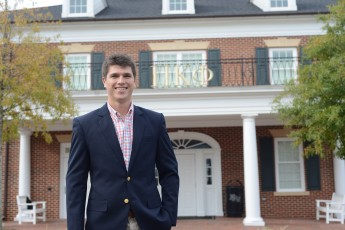 Senior Elected to Fraternity's National Council