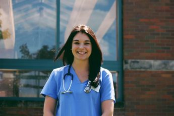 Class of 2018 Outcomes: Samantha Gajoch Attends Nursing School