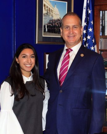 HPU Senior Interns in U.S. House of Representatives