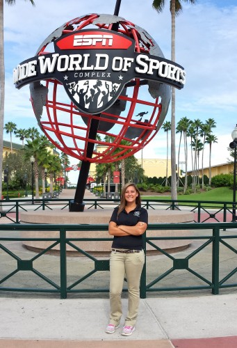 Class of 2014 Outcomes: Sarah Houston Shines at Disney's ESPN Complex