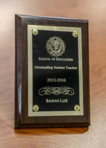 Sarah Luz award