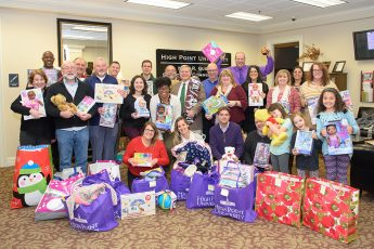 HPU's School of Communication Gives Christmas Gifts to Local Families