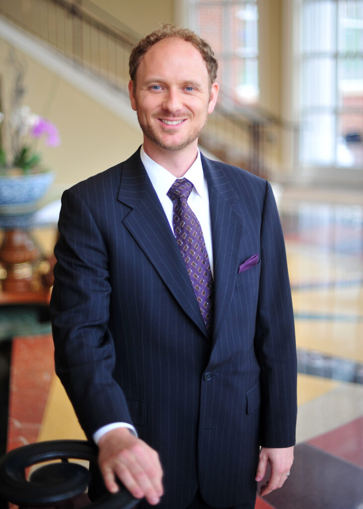 High Point University professor Scott MacLeod