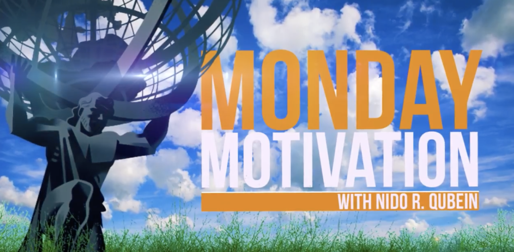 Monday Motivation Thumbnail play button