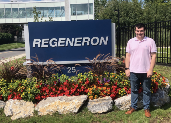 Class of 2019 Outcomes: Michael Dreher Accepts Position with Regeneron Pharmaceuticals