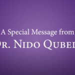 A special message from Dr. Qubein