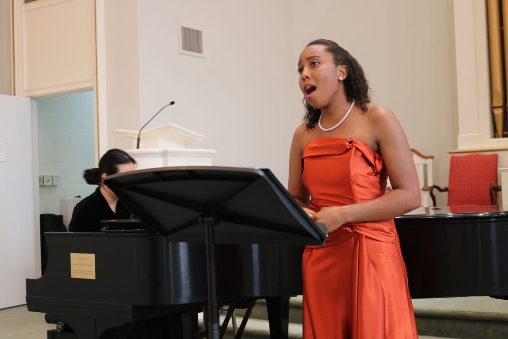 Britteny Meadors Singing