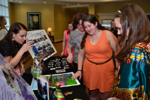 HPU students showcase their relief efforts completed from an alternative spring break trip in Haiti.