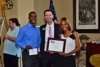 Students Recap a Year of Service