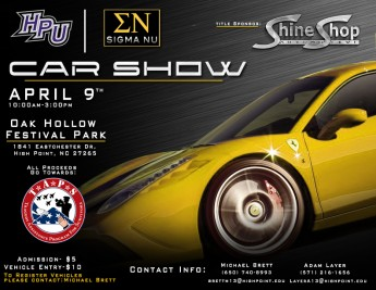 Sigma Nu Fraternity to Host Car Show, Proceeds Go to Military Families