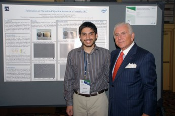 Sophomore Presents Heart Monitor Research at TECHCON Conference