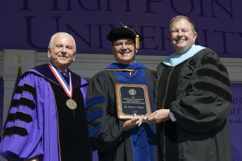 Dan Tarara Receives Slane Distinguished Teaching-Service Award