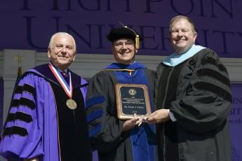Dan Tarara Receives Slane Distinguished Teaching-Service Award