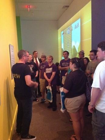 Gaming Majors Visit Art of Video Games Exhibit at Smithsonian