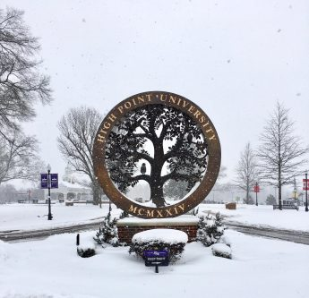 Letter from HPU President Nido Qubein: Counting Blessings on a Snow Day