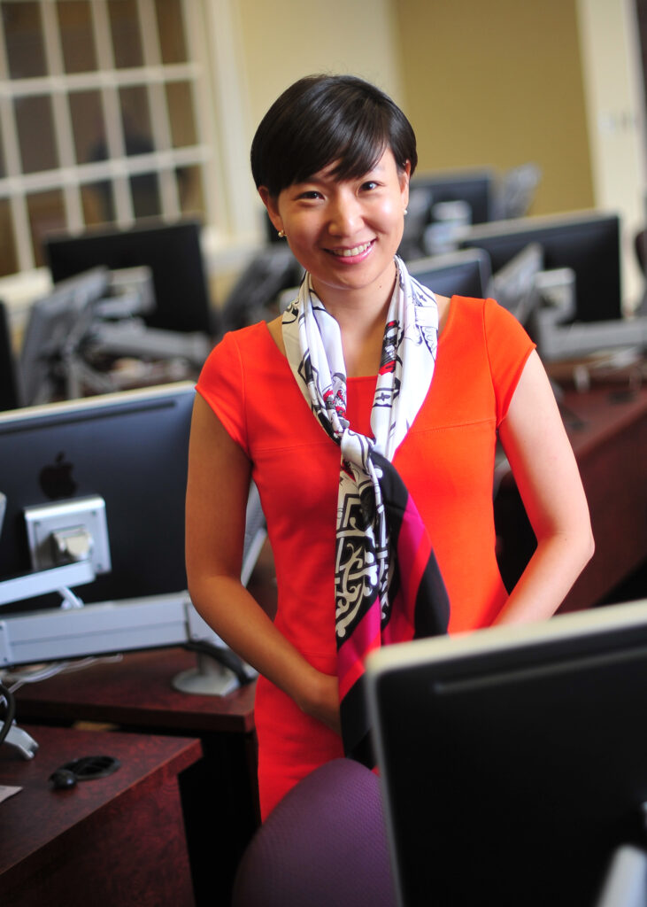 High Point University professor Sojung Kim
