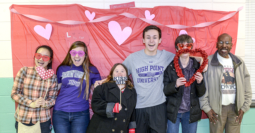 Students Host Valentine S Day Dance For Individuals With