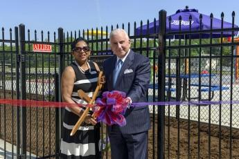 Carl Chavis YMCA Opens Splash Park for Children in High Point