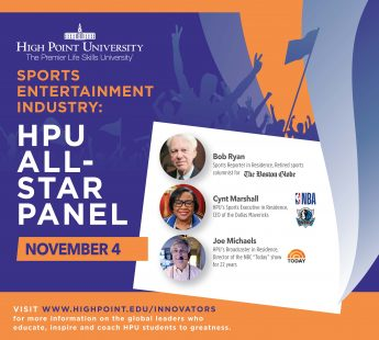 HPU to Host All-Star Panel with Sports Industry Leaders