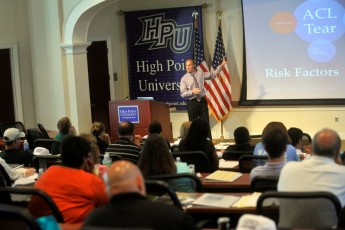 HPU, Cornerstone Health Care to Host 'Athletes: Diet and Exercise' Sports Medicine Seminar