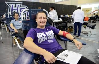 HPU Donates 73 Pints at Spring Blood Drive