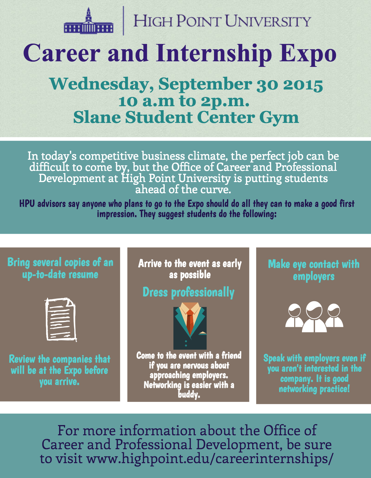 Spring Career and Internship Expo
