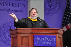 Steve Wozniak_Commencement 2013