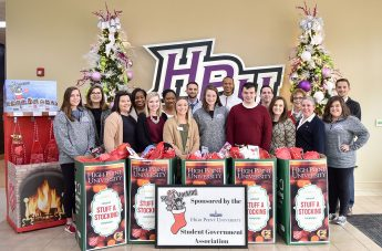 HPU Family Gives 1,200 Christmas Stockings to Salvation Army