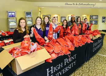 SGA Fills Hundreds of Stockings for Salvation Army