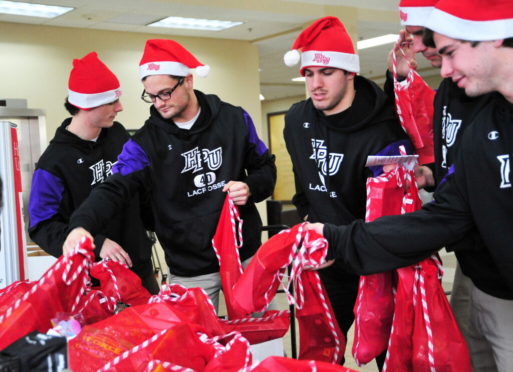 High Point University Stuff a Stocking Campaign