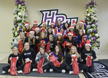 Students, Faculty and Staff Donate Time and Gifts for Others this Holiday Season