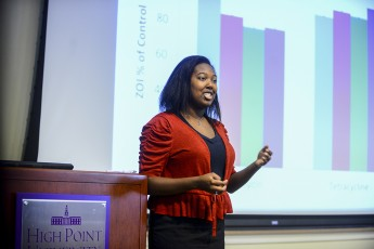Students Present at Summer Undergraduate Research Symposium
