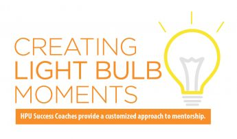 Creating Lightbulb Moments: HPU Success Coaches provide a customized approach to mentorship.