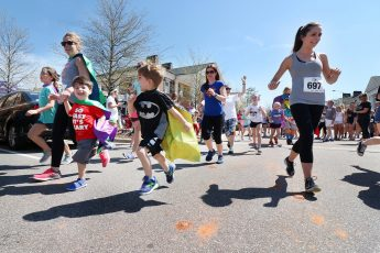 Kappa Delta Co-Hosts Superhero Dash with Family Service of the Piedmont