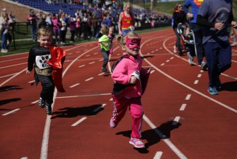 Superhero Dash at HPU Raises Funds  for Family Service of the Piedmont