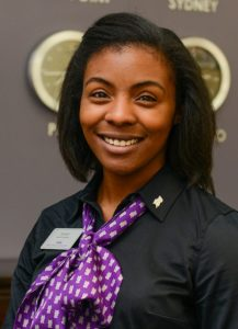 Sydney Richards, HPU junior and Genesis Gospel Choir president