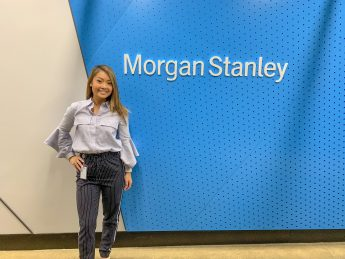 Internship Profile: Tara Jue Makes a Career with Morgan Stanley