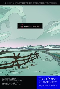 "High Point University's theatre presents ""The Laramie Project"""