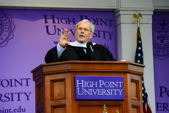 Tom Brokaw Addresses HPU's Class of 2015
