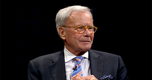Tom Brokaw - Perspective of Getting What You Earned