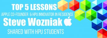 Top 5 Lessons Steve Wozniak Shared with HPU Students