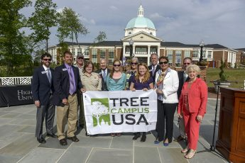 HPU Earns 8th Consecutive Tree Campus USA Award